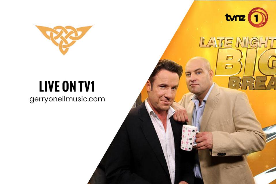 Gerry O'Neil Live on TVNZ1